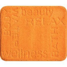 GRUND Koupelnová předložka FEELING oranžová Typ: 50x60 cm