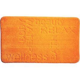 GRUND Koupelnová předložka FEELING oranžová Typ: 70x120 cm