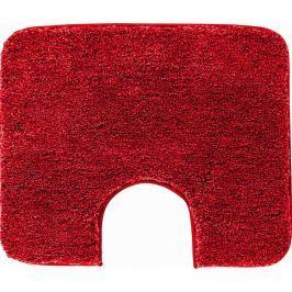 GRUND Koupelnová předložka LEX rubínová Typ: 50x60 cm s výřezem pro WC