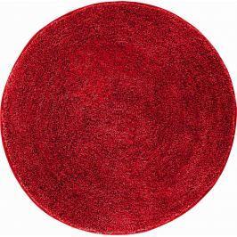 GRUND Koupelnová předložka LEX rubínová Typ: kruh 80 cm