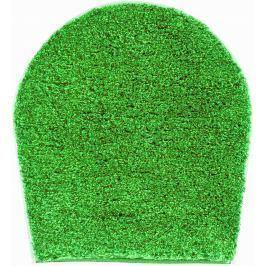 GRUND Koupelnová předložka LEX zelená Typ: 47x50 cm - na víko od WC nebo jako podsedák na židli