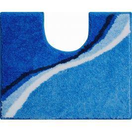 GRUND Koupelnová předložka LUCA modrá Typ: 50x60 cm s výřezem pro WC