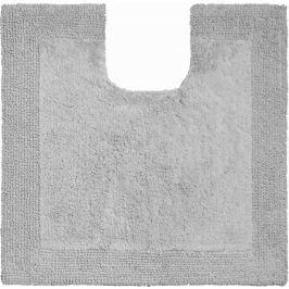 GRUND Koupelnová předložka LUXOR oblázková šedá Typ: 60x60 cm s výřezem pro WC