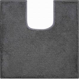 GRUND Koupelnová předložka MANHATTAN antracitová Typ: 55x55 cm s výřezem pro WC