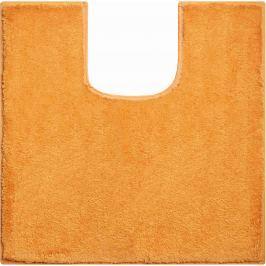 GRUND Koupelnová předložka MANHATTAN pomerančová Typ: 55x55 cm s výřezem pro WC