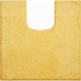 GRUND Koupelnová předložka MANHATTAN žlutá Typ: 55x55 cm s výřezem pro WC Prémiová kolekce GRUND 2018
