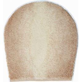 GRUND Koupelnová předložka MOON béžová Typ: 47x50 cm - na víko od WC nebo jako podsedák na židli