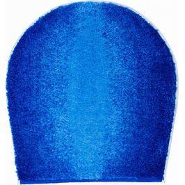 GRUND Koupelnová předložka MOON modrá Typ: 47x50 cm - na víko od WC nebo jako podsedák na židli