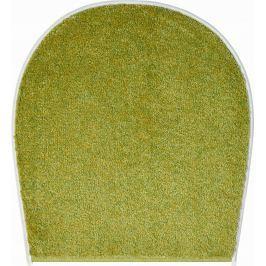 GRUND Koupelnová předložka ORLY zelená Typ: 47x50 cm - na víko od WC nebo jako podsedák na židli