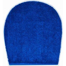 GRUND Koupelnová předložka RIALTO modrá Typ: 47x50 cm - na víko od WC nebo jako podsedák na židli
