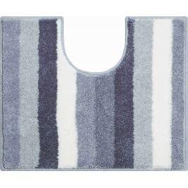 GRUND Koupelnová předložka BARCELONA šedá Typ: 50x60 cm s výřezem pro WC