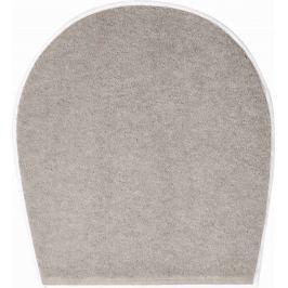 GRUND Koupelnová předložka SHI hnědá Typ: 47x50 cm - na víko od WC nebo jako podsedák na židli