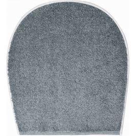 GRUND Koupelnová předložka WINGS šedá Typ: 47x50 cm - na víko od WC nebo jako podsedák na židli