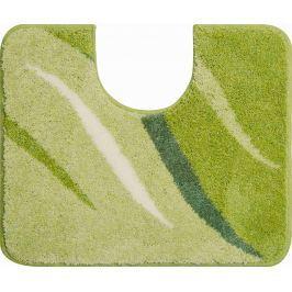 GRUND Koupelnová předložka WINGS zelená Typ: 50x60 cm s výřezem pro WC
