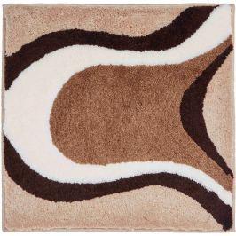GRUND Koupelnová předložka Colani 11 béžová Typ: 60x60 cm Designová kolekce LUIGI COLANI