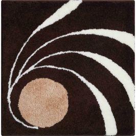 GRUND Koupelnová předložka Colani 18 hnědá Typ: 60x60 cm Designová kolekce LUIGI COLANI