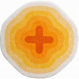 GRUND Koupelnová předložka KARIM 03 žlutá Typ: kruh 60 cm