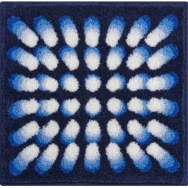 GRUND Koupelnová předložka KARIM 07 modrá Typ: 60x60 cm VIP kolekce KARIM RASHID