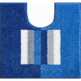 LineaDue Koupelnová předložka CAPRICIO modrá Typ: 55x60 cm s výřezem pro WC