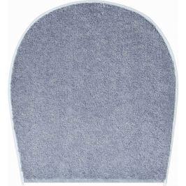 LineaDue Koupelnová předložka FANTASTIC šedá Typ: 47x50 cm - na víko od WC nebo jako podsedák na židli