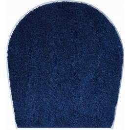 LineaDue Koupelnová předložka FANTASTIC královská modrá Typ: 47x50 cm - na víko od WC nebo jako podsedák na židli