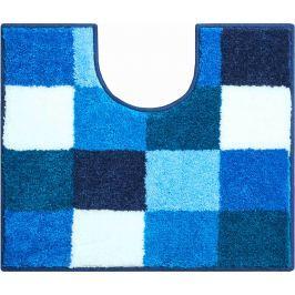 GRUND Koupelnová předložka BONA modrá Typ: 50x60 cm s výřezem pro WC Prémiová kolekce GRUND 2018