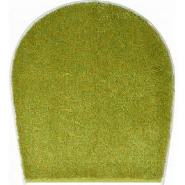 LineaDue Koupelnová předložka FANTASTIC zelená Typ: 47x50 cm - na víko od WC nebo jako podsedák na židli