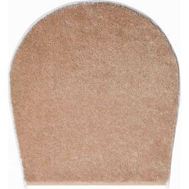 LineaDue Koupelnová předložka FANTASTIC béžová Typ: 47x50 cm - na víko od WC nebo jako podsedák na židli