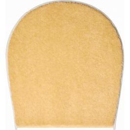 LineaDue Koupelnová předložka FANTASTIC žlutá Typ: 47x50 cm - na víko od WC nebo jako podsedák na židli