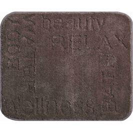 LineaDue Koupelnová předložka FEELING kakaová Typ: 50x60 cm