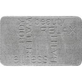 LineaDue Koupelnová předložka FEELING antracitová Typ: 60x100 cm