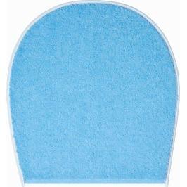 LineaDue Koupelnová předložka FLASH modrá Typ: 47x50 cm - na víko od WC nebo jako podsedák na židli
