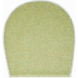 LineaDue Koupelnová předložka FLASH zelená Typ: 47x50 cm - na víko od WC nebo jako podsedák na židli