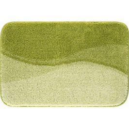 LineaDue Koupelnová předložka FLASH zelená Typ: 80x140 cm