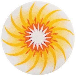GRUND Mandala předložka CESTA SVĚTLA žlutá Typ: kruh 60 cm