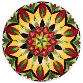 GRUND Mandala předložka MANDALA ŽIVOTA zelenožlutá Typ: kruh 60 cm