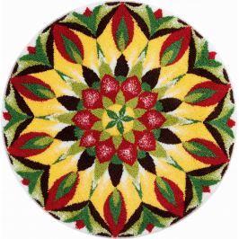 GRUND Mandala předložka MANDALA ŽIVOTA zelenožlutá Typ: kruh 80 cm