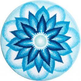 GRUND Mandala předložka NEBESKÝ MÍR modrá Typ: kruh 60 cm Koberce a koberečky