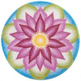 GRUND Mandala předložka POROZUMĚNÍ fialová Typ: kruh 60 cm Koberce a koberečky