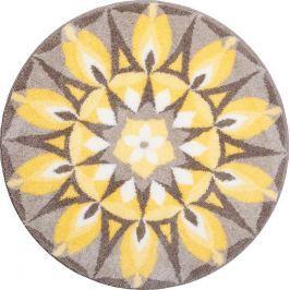 GRUND Mandala předložka SEBELÁSKA žlutošedivá Typ: kruh 60 cm