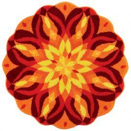 GRUND Mandala předložka SEBEREALIZACE oranžová Typ: kruh 60 cm