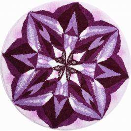 GRUND Mandala předložka SMYSLUPLNOST fialová Typ: kruh 60 cm Koberce a koberečky