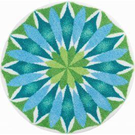 GRUND Mandala předložka SVÍTÁNÍ bleděmodrá Typ: kruh 80 cm