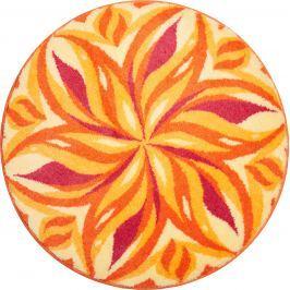 GRUND Mandala předložka TANČÍCÍ OBLOHA oranžová Typ: kruh 60 cm