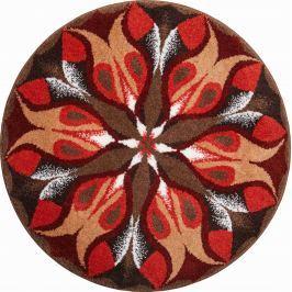 GRUND Mandala předložka TICHÁ ZÁŘ hnědá Typ: kruh 60 cm