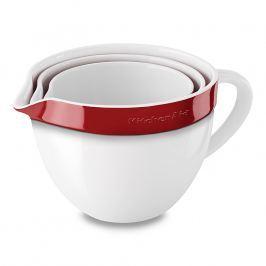 KitchenAid pracovní nádoba keramická set 3 ks (KBLR03NBER) královská červená