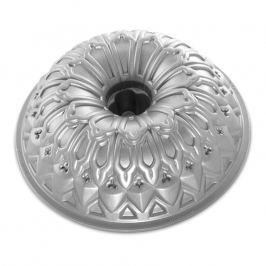 Nordic Ware Forma na bábovku Royal stříbrná 2,1 l