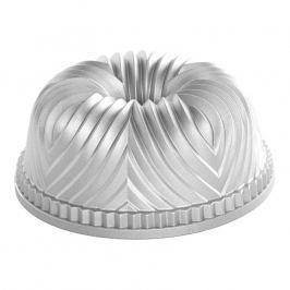 Nordic Ware Forma na bábovku Bavaria stříbrná 2,3 l