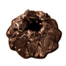 Nordic Ware Forma na bábovku Podzimní listy tmavá měď 24 cm 2,1 l