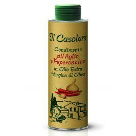 Extra panenský olivový olej s česnekem a chilli IL Casolare 250 ml [EXP]
